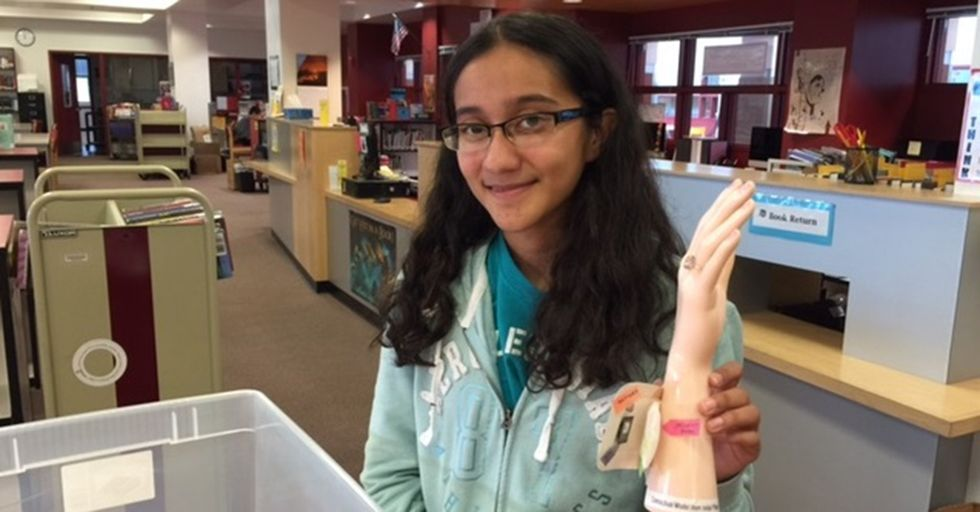 A 13-Year-Old Girl Has Invented A Bandage That Will Help Wounds Heal Faster
