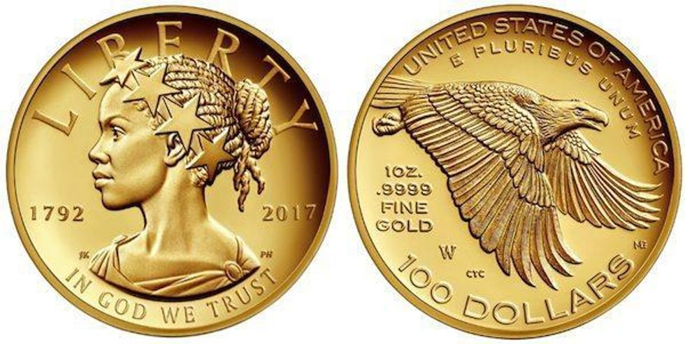 Lady Liberty Coin Will Feature The Face Of A Black Woman For First Time