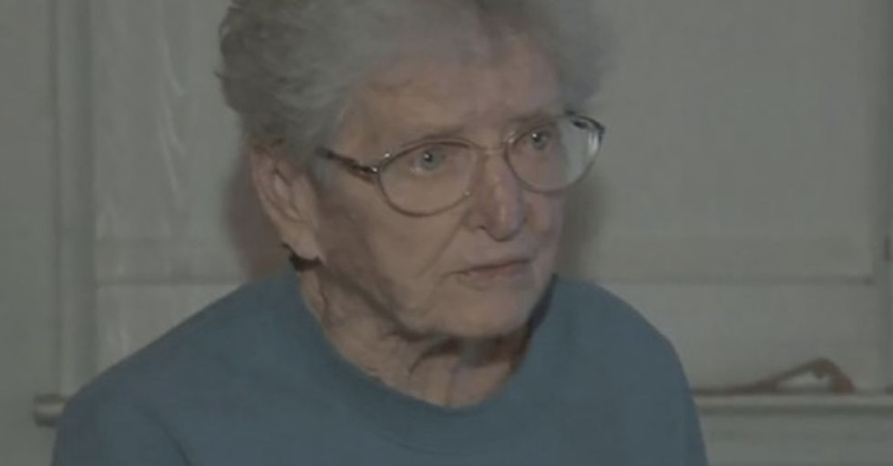 91-Year-Old Great-Grandma Fights Off Home Invader, Then Takes His Phone