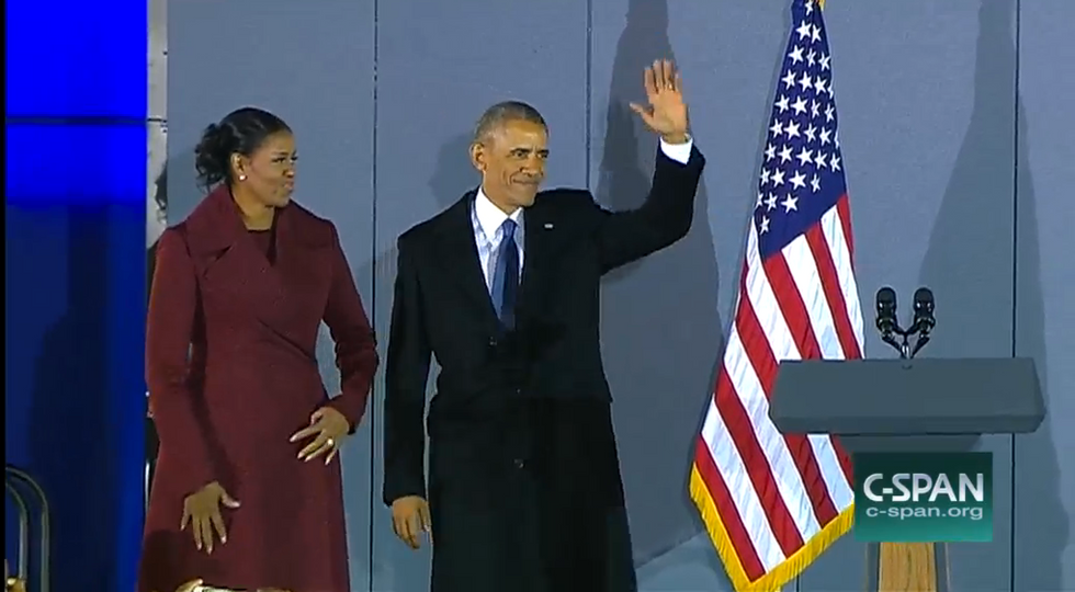 Obama Just Gave His First Speech Since Leaving White House