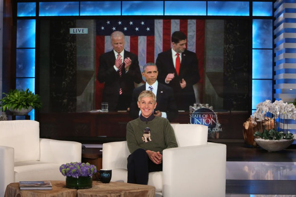 Ellen's Good-Bye Tribute To Obama Is Just So Damn Good