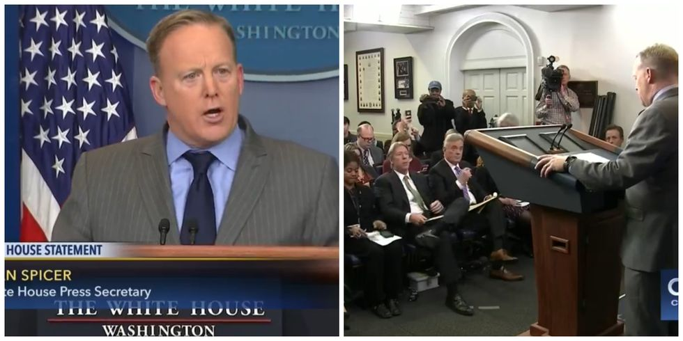 Trump's Press Secretary Attacks Media For Reporting Truth Over Inauguration Size