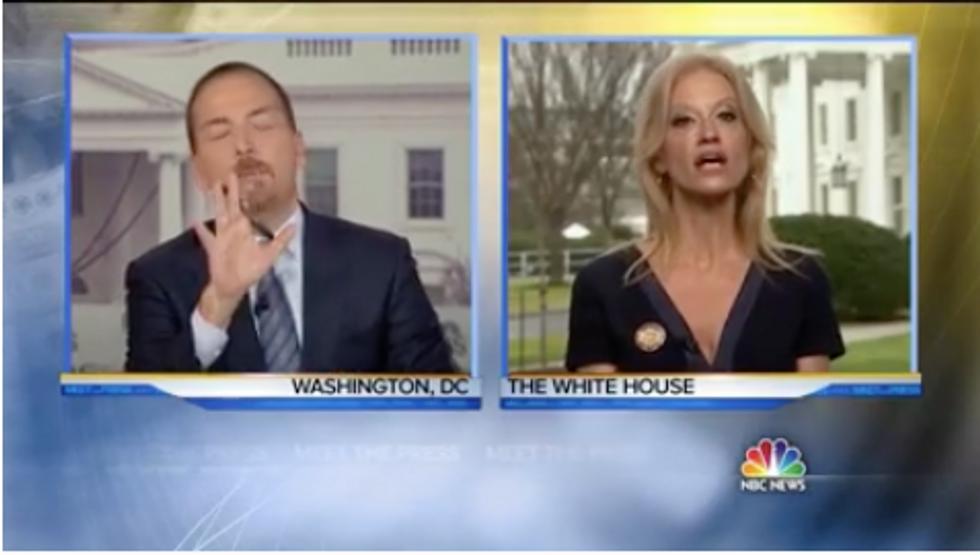 Trump Adviser Calls President's Lies'Alternative Facts'