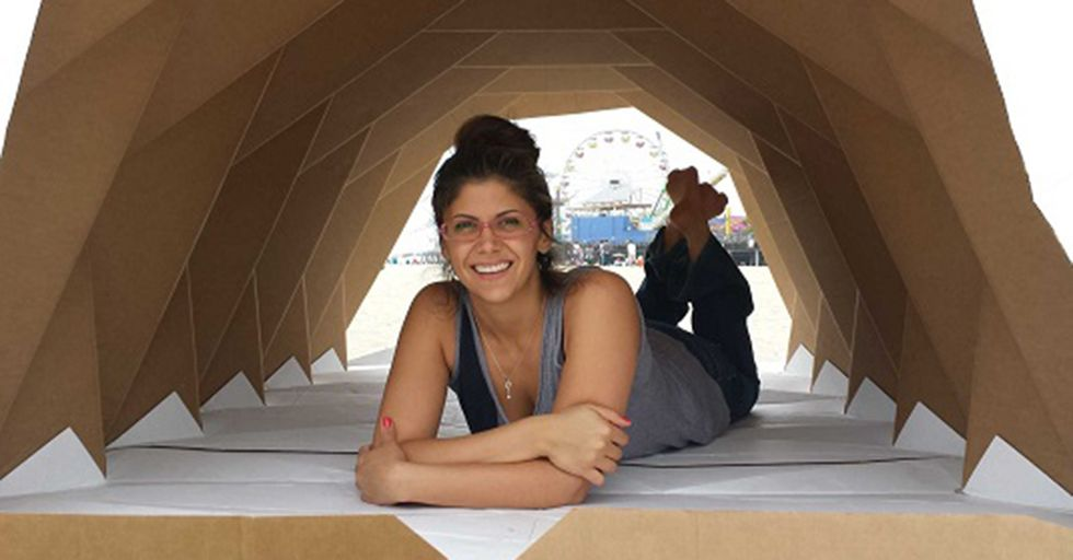 An Architect Is Taking On Homelessness By Creating Beautiful Cardboard Houses For The Needy