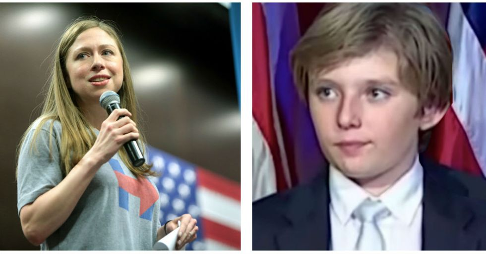 Chelsea Clinton Says It's Time To Stop Bullying Barron Trump