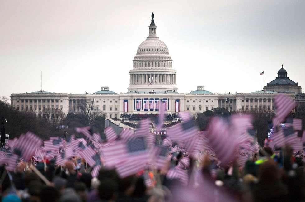 Inauguration Weekend Dispatches From The National Mall, America's 'Stage For Democracy'