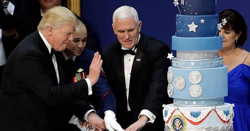 Trump's Inaugural Baker Gives Cake Profits To LGBT Rights Group