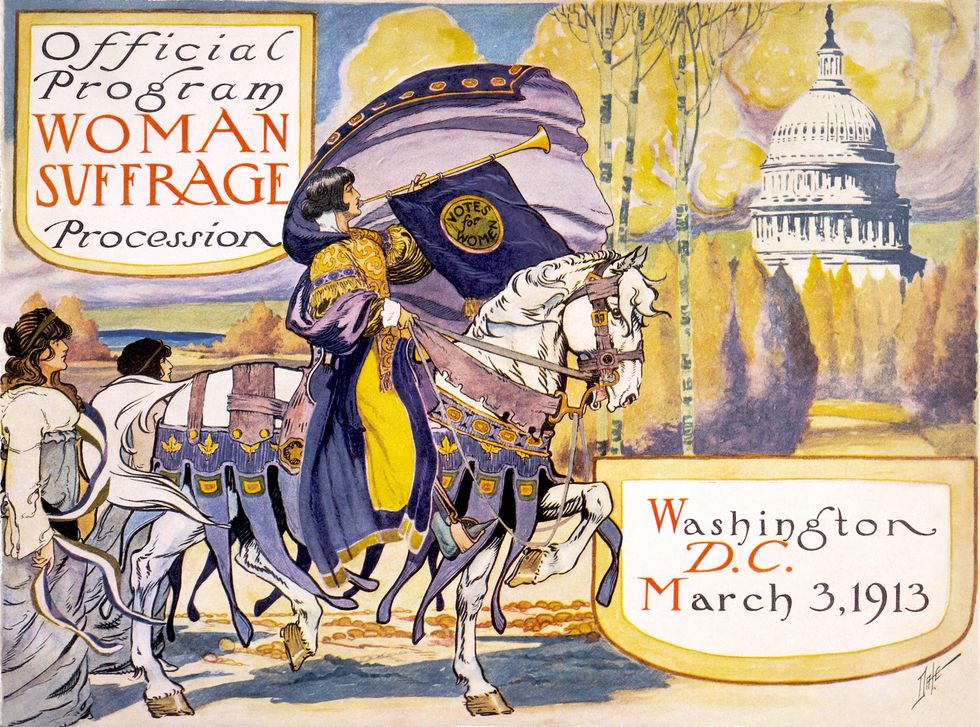 Meet The Suffragettes Who Paved The Way For The Historic Women's March