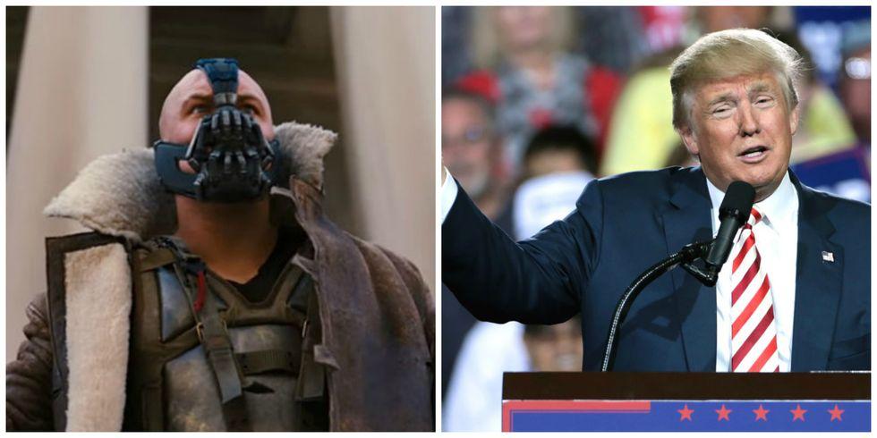Trump Plagiarized Batman Villain During Inauguration Speech