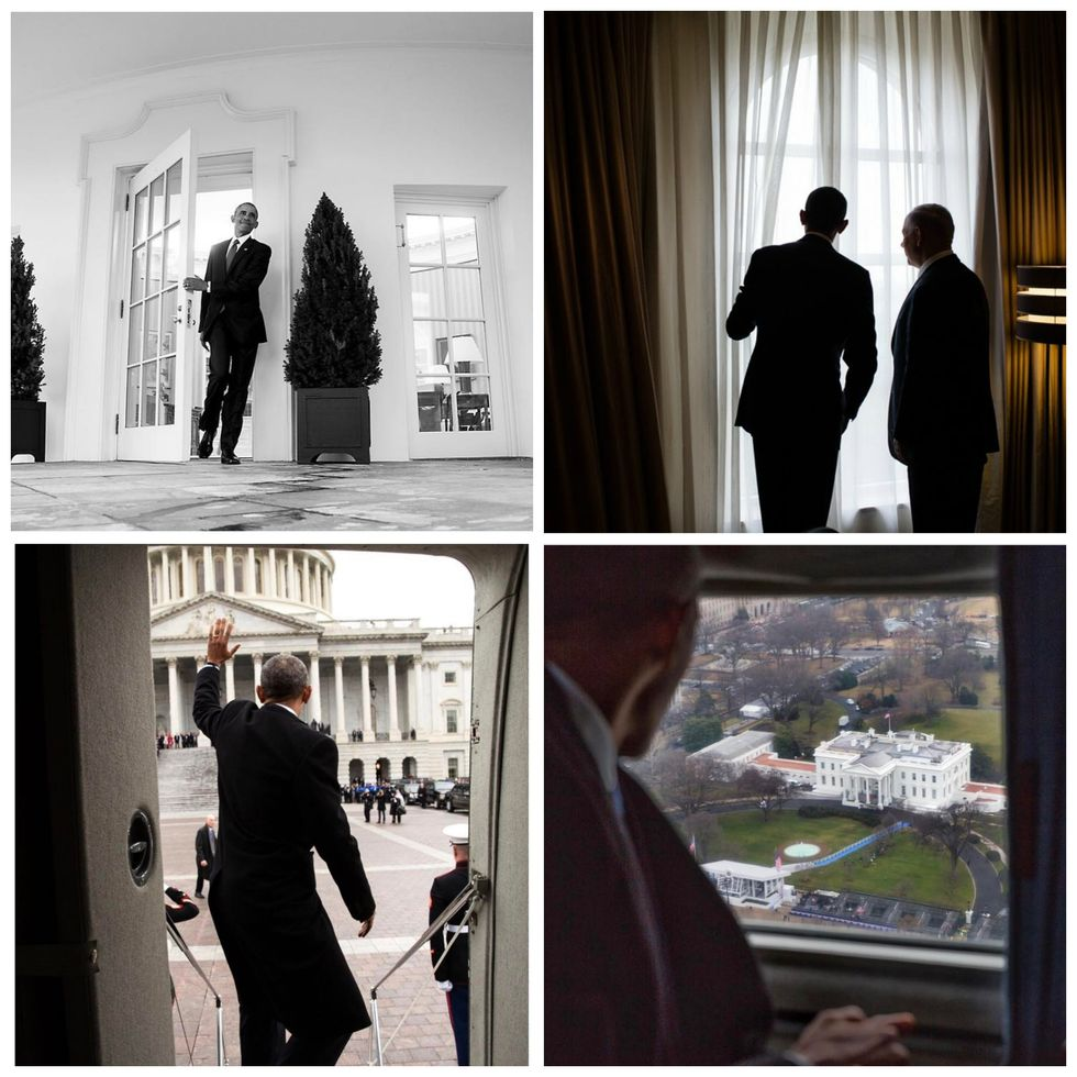 These Are The Final, Moving Photos Of President Obama Leaving The White House