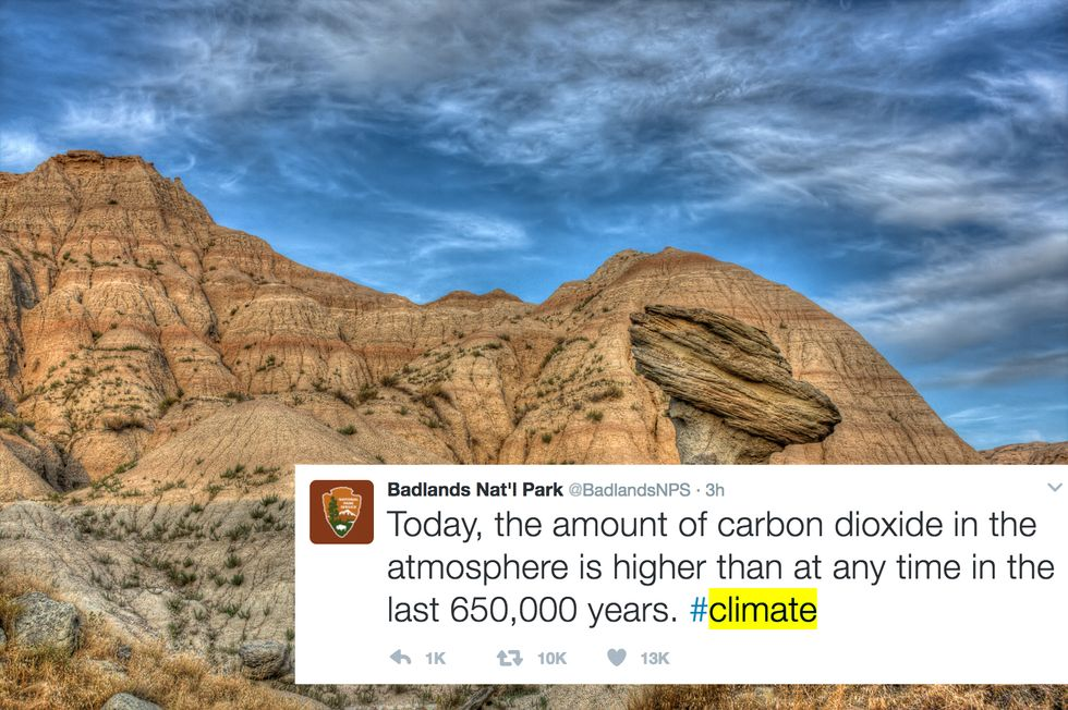 Badlands National Park Stood Up To Trump Where It Hurts—On Twitter