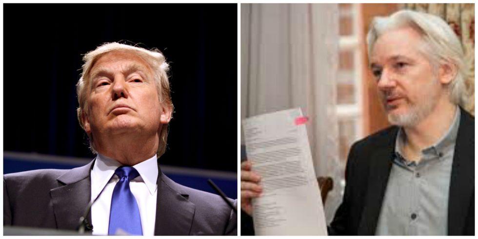 WikiLeaks Declares War On Trump
