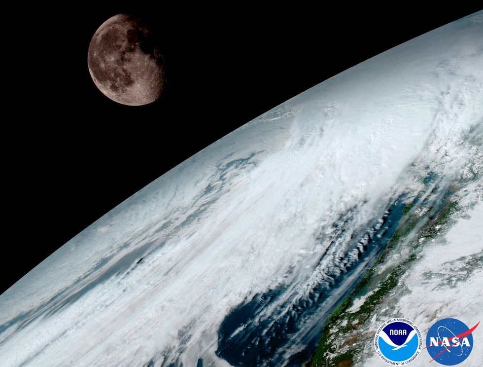 New NASA Satellite Releases Stunning Images Of Earth