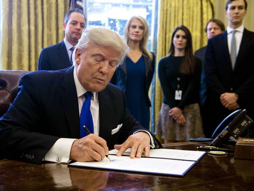The Executive Action Tracker: How Trump's 13 Latest Moves Will Affect You