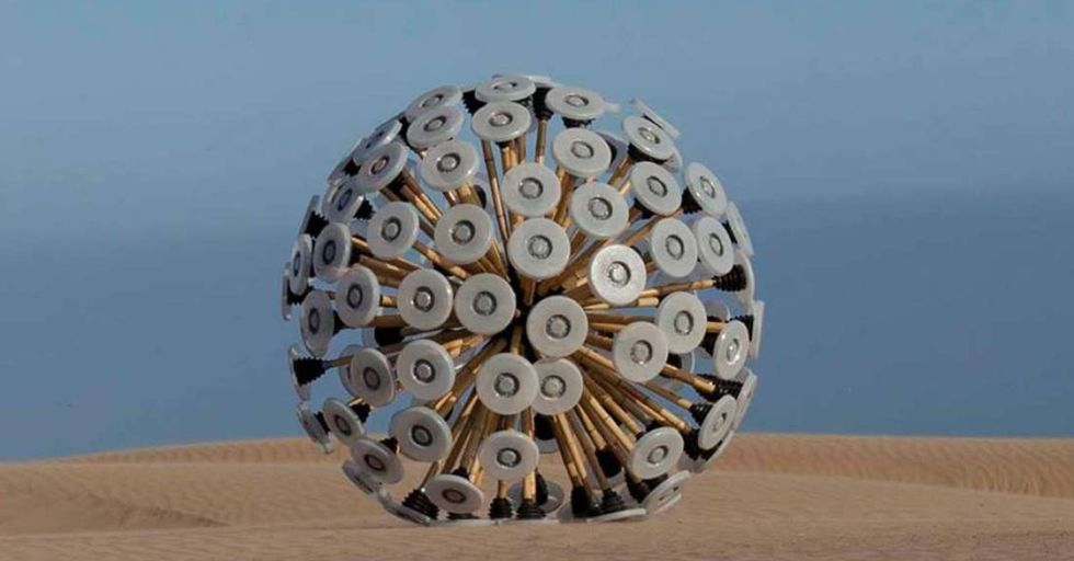 This Wind-Powered Sphere Has Led To A Technology That Could Solve The World's Landmine Crisis