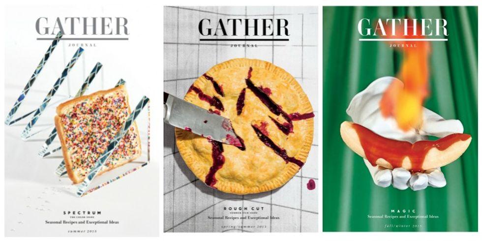 Reader's Digestif: A Peek Inside Your New Food Bible, Gather Journal
