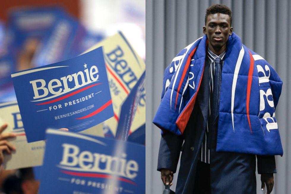 Bernie Sanders and Brexit Spark Fashion Revolution