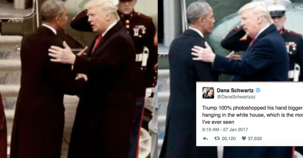 Why People Fell For This Ridiculous Hoax About Trump's Hands