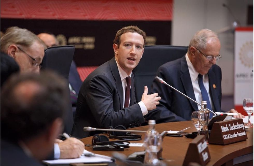 Mark Zuckerberg Stands Up To President Donald Trump