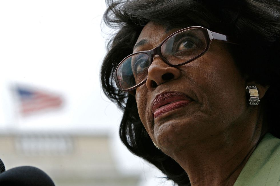 Maxine Waters Won't Let You Stand Down