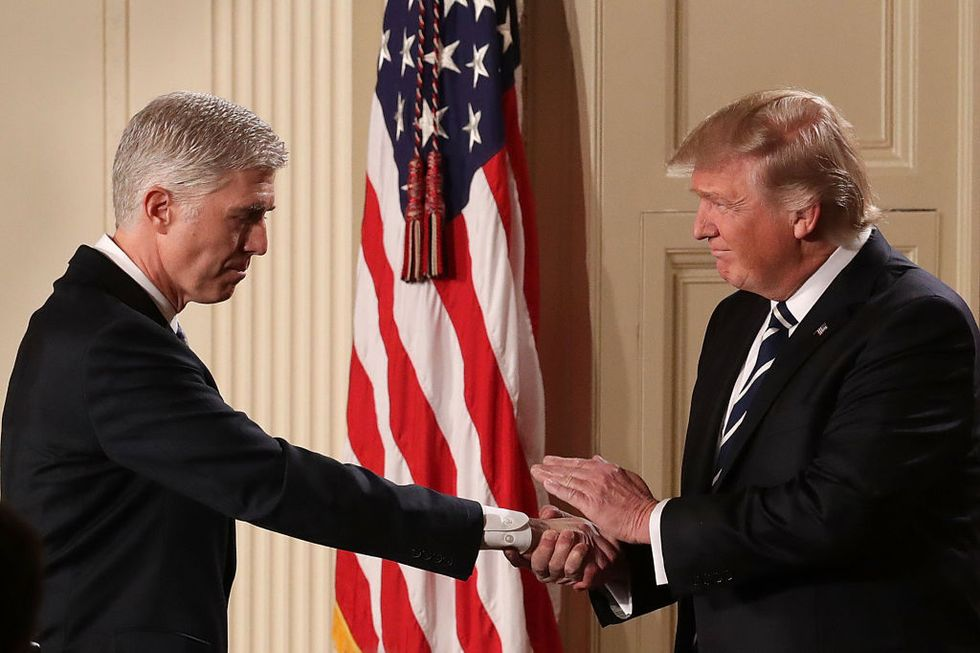 Democrats Fired Up To Filibuster Neil Gorsuch, Trump's New Supreme Court Pick