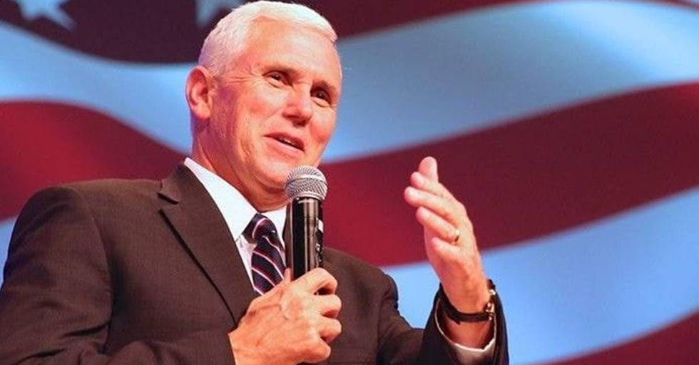 Mike Pence Celebrates Black History Month By Praising A White Man