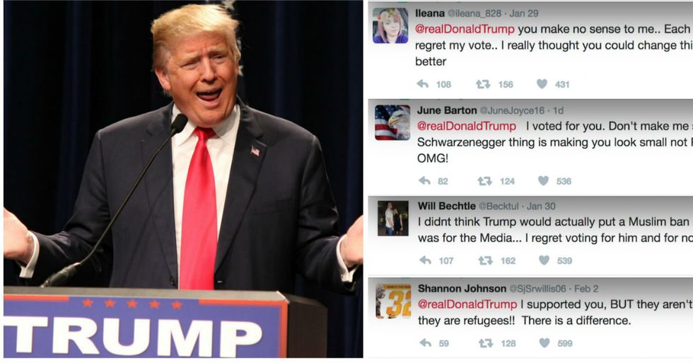 Twitter Account Collects Messages From Regretful Trump Voters