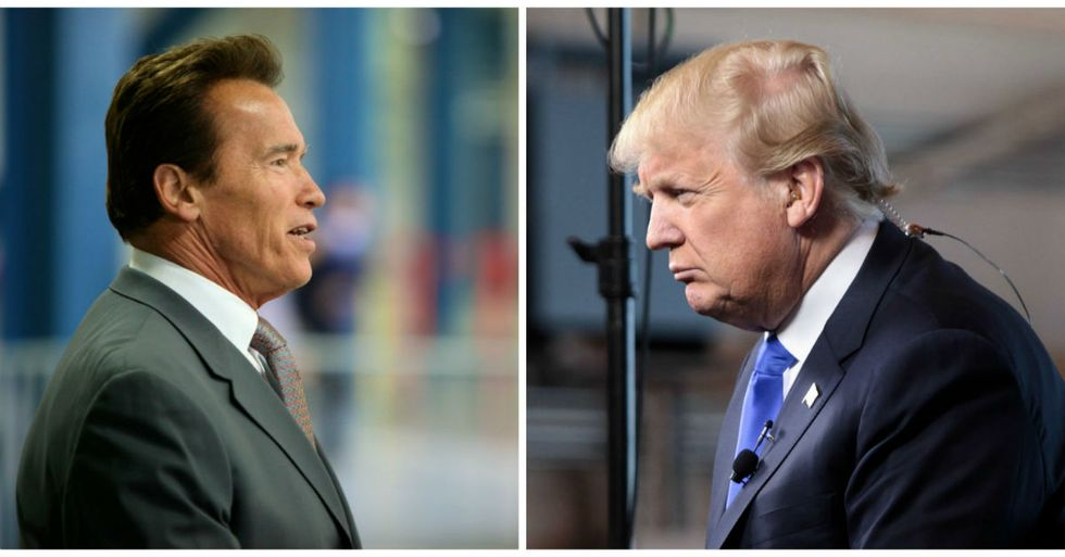 Arnold Schwarzenegger Has Brilliant Plan To Fix Trump White House