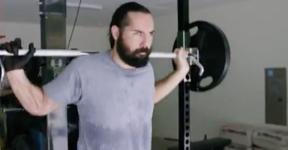 Veterans Group Hits President Hard With This Ad Featuring A Weightlifting Wounded Warrior