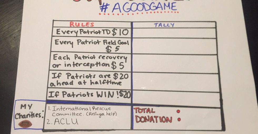Pats Fans Turned Their Team's Touchdowns Into Funding For The ACLU And Planned Parenthood