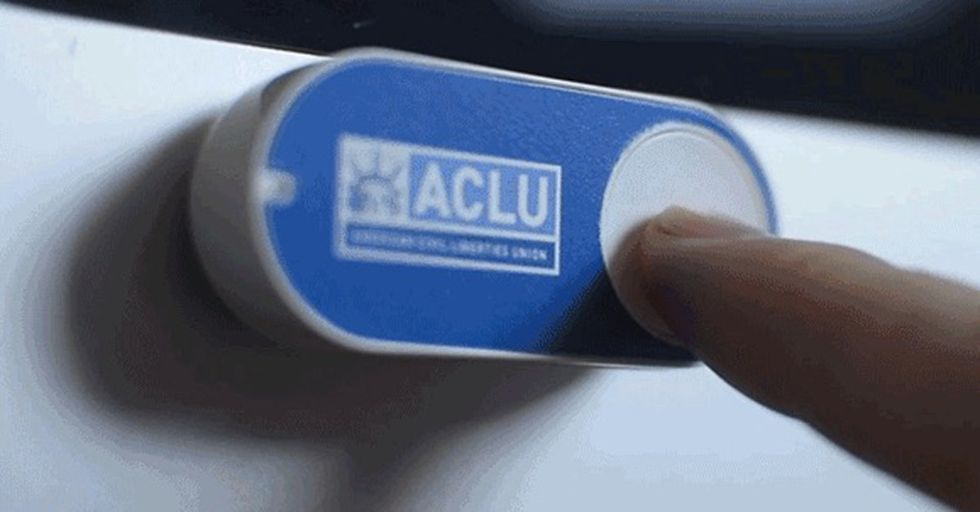 Donate $5 To The ACLU Any Time You Wish Using This Hacked Amazon Dash Button