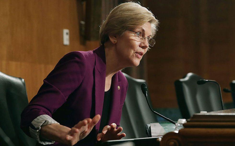 The Senate Tried To Shut Down Elizabeth Warren. So She Took To Facebook Live Instead
