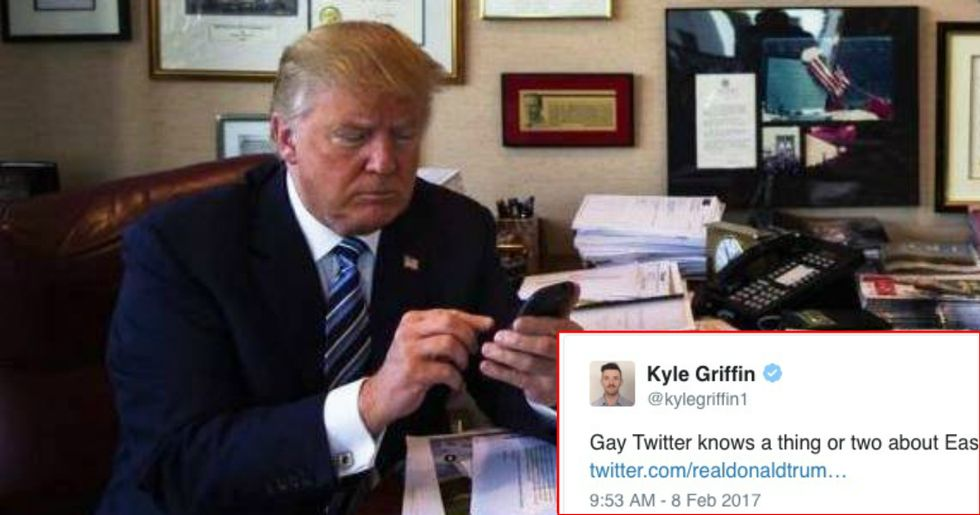 Twitter Reacts To Trump's 'EASY D' Tweet