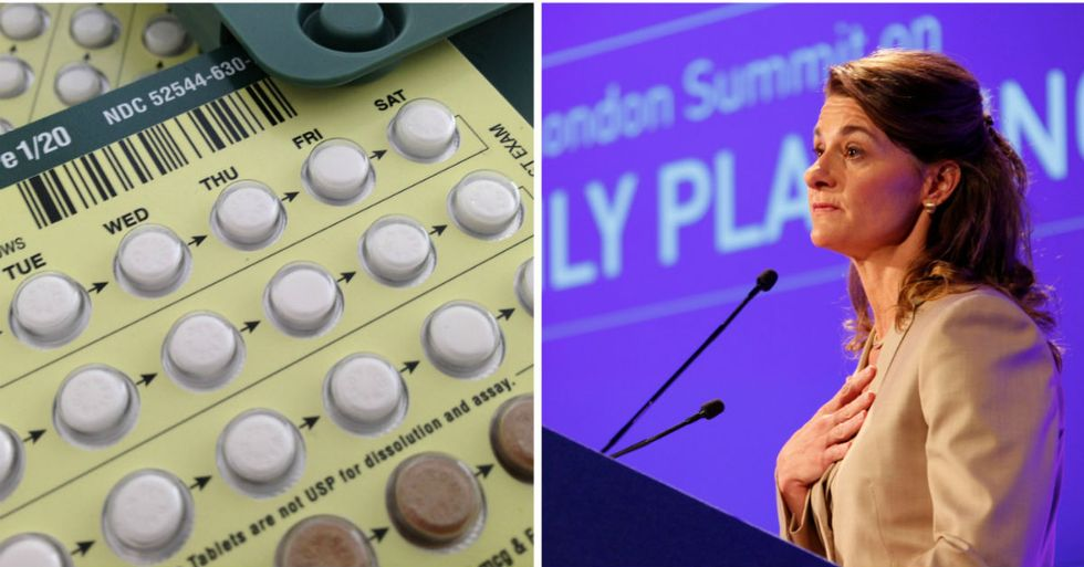 Melinda Gates Promises To Give Birth Control To 120 Million Women By 2020
