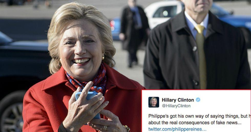 Hillary Clinton Mocks Trump's Disgraced National Security Advisor