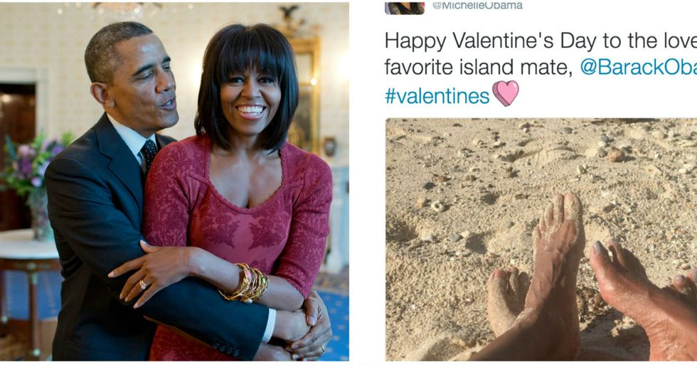 Michelle Obama's First Tweet Since Leaving The White House Is A Message Of Love