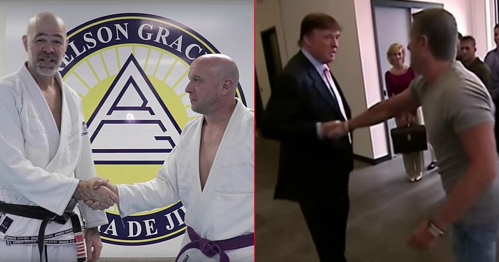 Jiu-Jitsu Master Shows How To Defend Yourself Against The Donald Trump Handshake