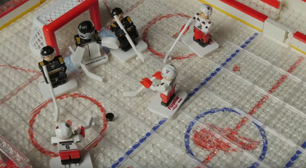 Grand Rapid Griffins Celebrate Hockey With Awesome LEGO Stop-Motion Videos