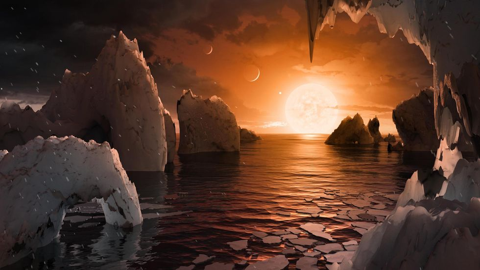 NASA Just Discovered A Solar System With 7 Earth-Like Planets
