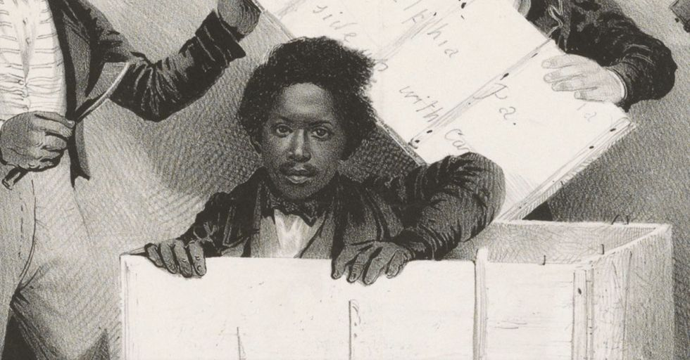 The Story Of Henry 'Box' Brown, The Slave Who Mailed Himself To Freedom