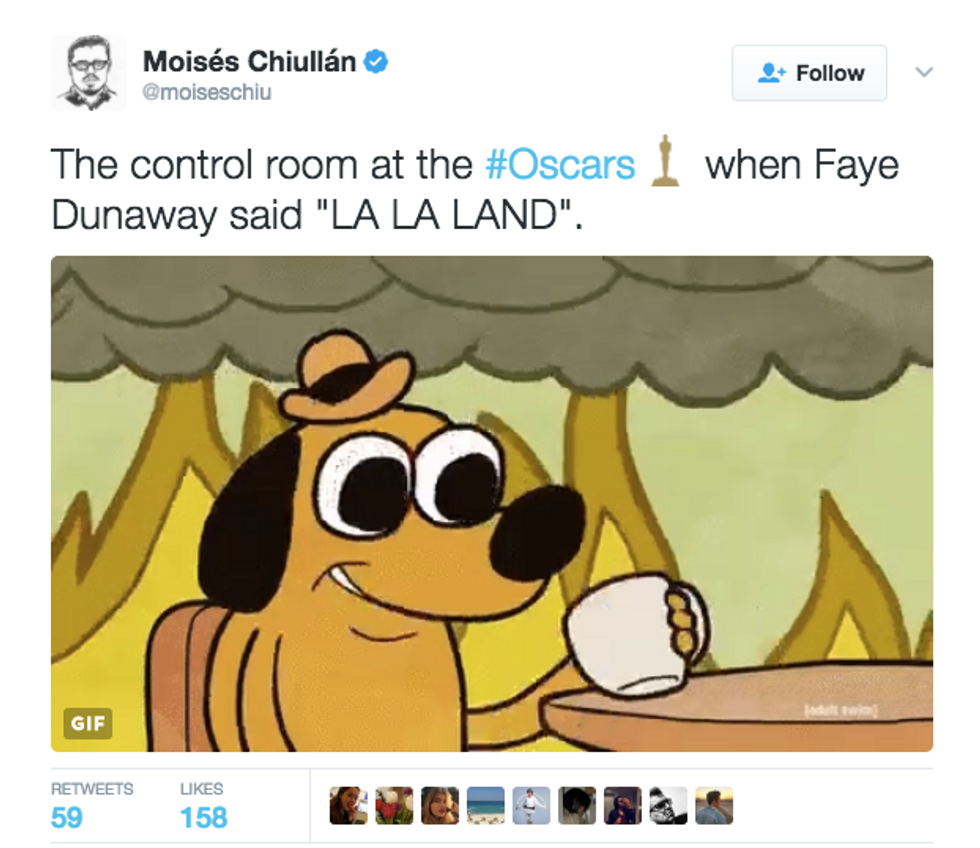 Social Media Goes Wild After Shocking Mix-Up At The Oscars