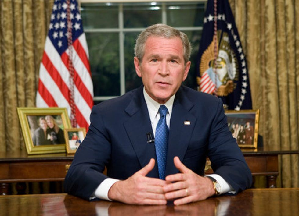 Mark This Day On Your Calendar: You Just Agreed With George W. Bush