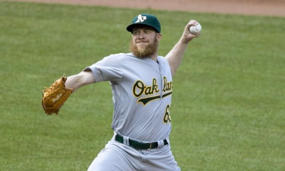 Oakland A's Pitcher Sean Doolittle Frames The Immigration Issue Perfectly