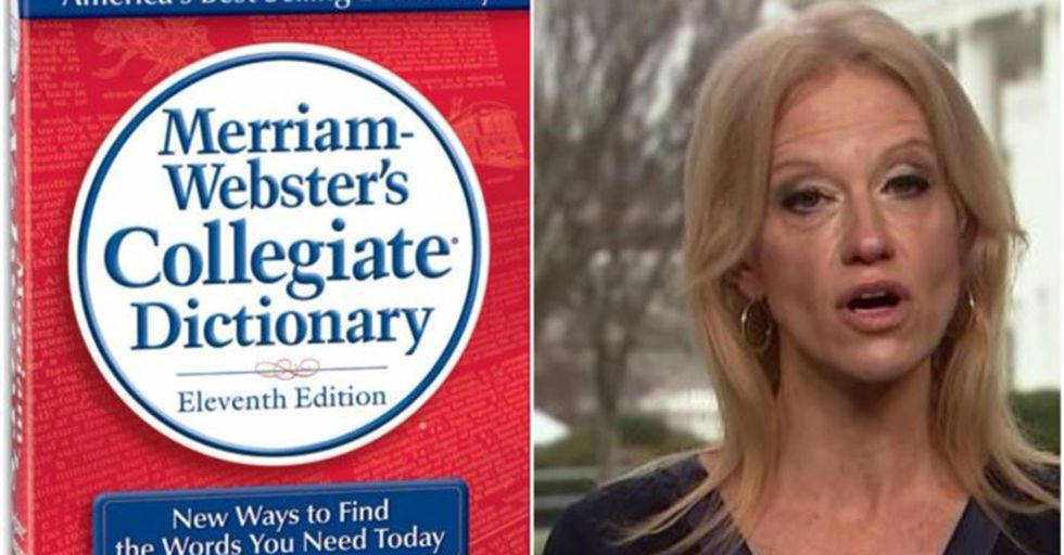 Merriam-Webster, Sassy As Ever, Tweeted To Kellyanne Conway The Actual Definition Of Feminism