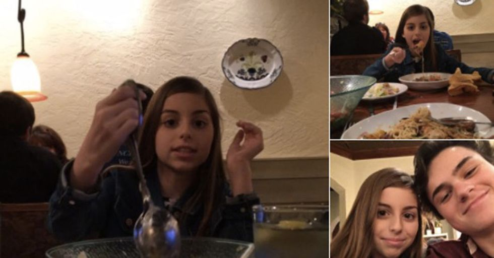He Took His Girlfriend's 12-Year-Old Sister On A Mock Date To Demonstrate 'Respectful' Behavior
