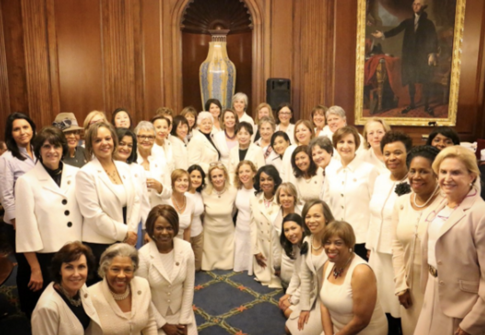 This Is Why Democratic Women Are Wearing White At The President's Address