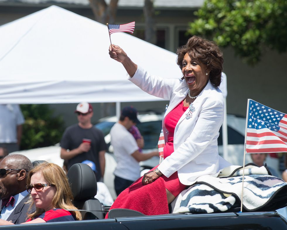Rep. Maxine Waters Explains Why She Skipped Trump's Speech In 5 simple Words