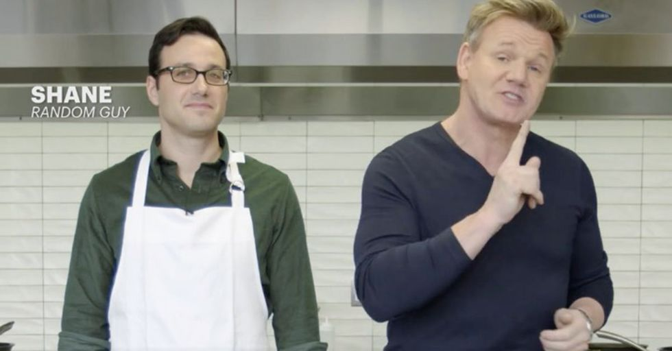 Gordon Ramsay Proves He Doesn't Even Need To See A Chef To Know They're Screwing Up