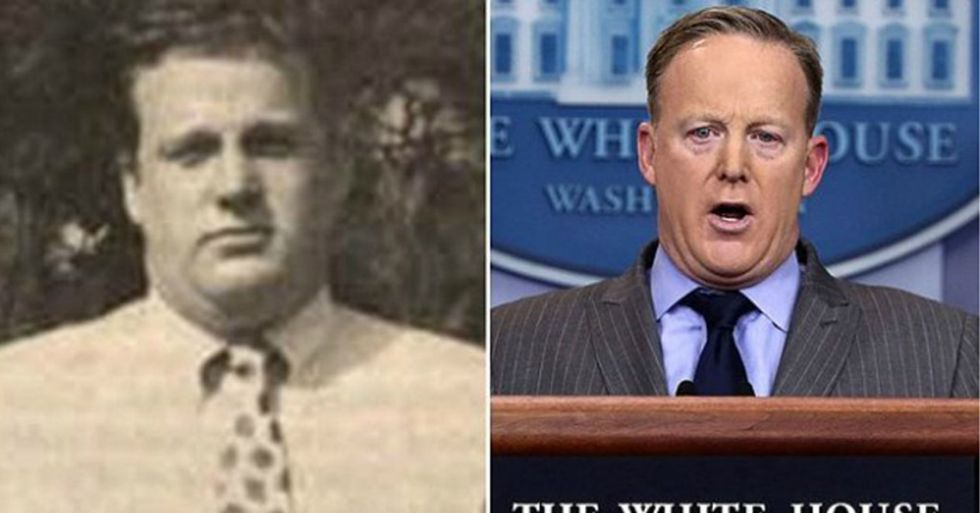 When Sean Spicer Learned About The Nickname His College's Newspaper Gave Him, He Responded Predictably
