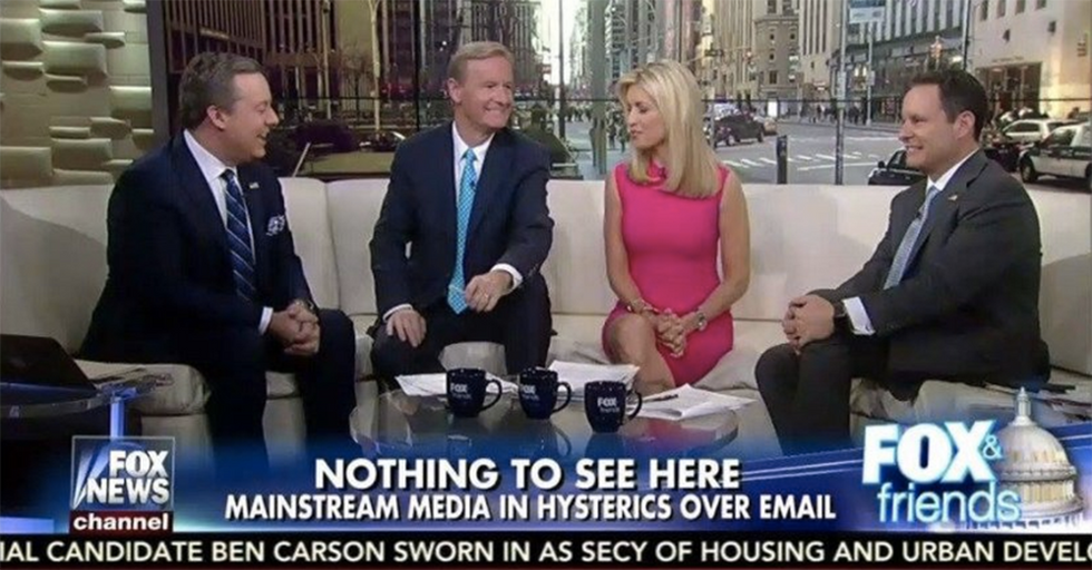 Graphics Show Fox News Takes Two VERY Different Approaches To The Clinton/Pence Email Scandals